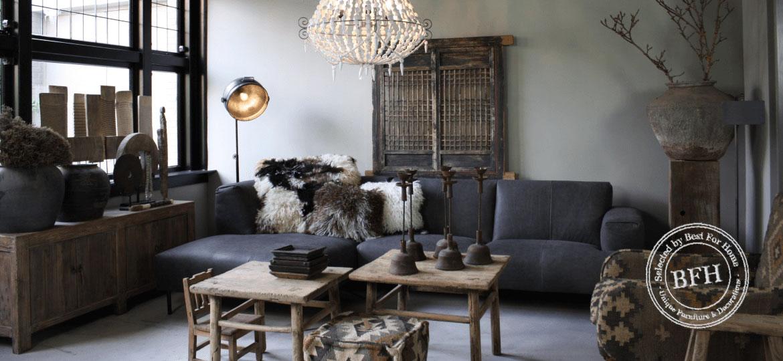 Best for home uniek sober landelijk industrieel stoer for Interieur decoratie winkels