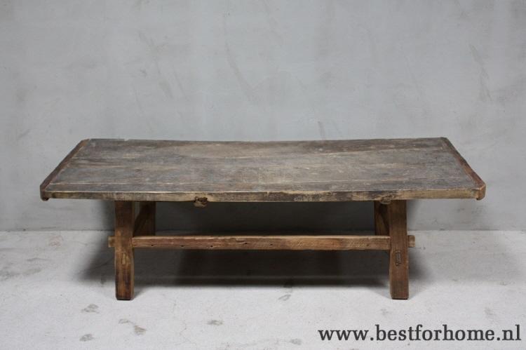 Salontafel van oud hout salontafel oud hout woonland