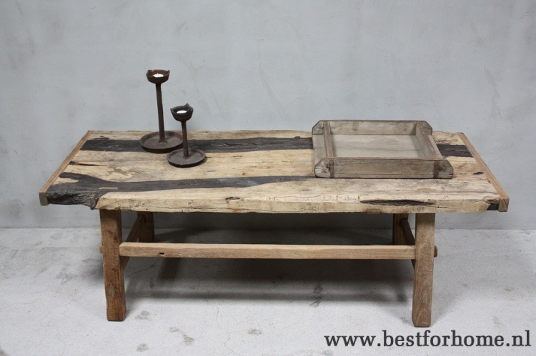 Salontafel Hout Landelijk.Landelijke Origineel Oud Houten Salontafel China Grote Oude Robuuste Tafel No 532