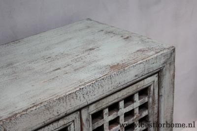 Oude Houten Kast : Uniek werelds dressoir lichtgroen stoere landelijke oude houten kast