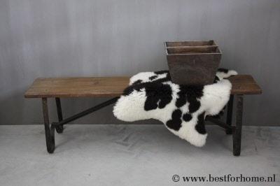 Houten Bankje Slaapkamer : ≥ bankje eettafel oud nieuw binnen buiten hout balken stoer