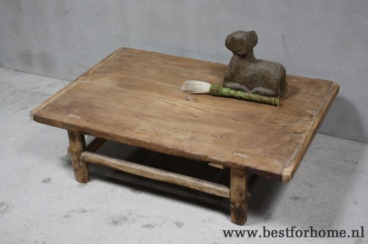Salontafel Hout Oud.Stoere Landelijke Oude Salontafel China Robuuste Unieke Tafel Oud Hout No 770